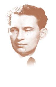 Portrait d'après sa stèle dans la Carrière des Fusillés