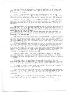 Tapuscrit du témoignage d'Esther Gaudin - Page 2 sur 4 (© MRN/fonds de l'Amicale Châteaubriant-Voves-Rouillé-Aincourt)